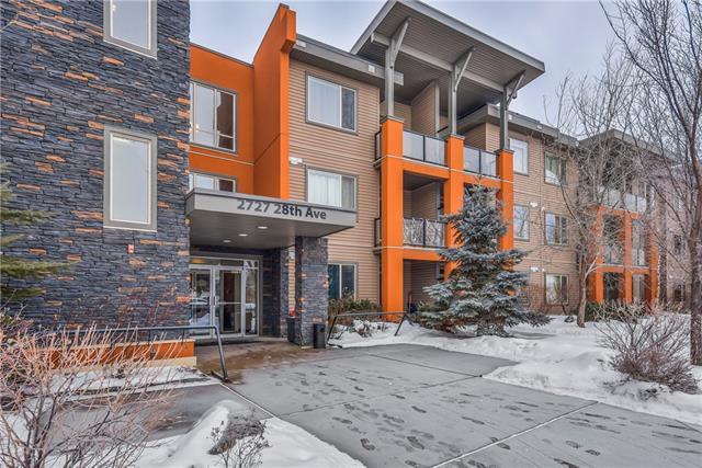 2727 28 Avenue SE #213, Calgary, AB T2B 0L4 (#C4164478) :: Redline Real Estate Group Inc