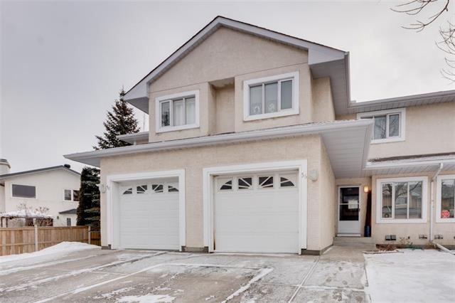 388 Sandarac Drive NW #56, Calgary, AB T3K 4E3 (#C4164569) :: Canmore & Banff