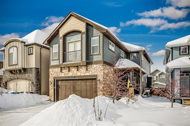 27 Mahogany Way SE, Calgary, AB T3M 1N4 (#C4164585) :: Tonkinson Real Estate Team