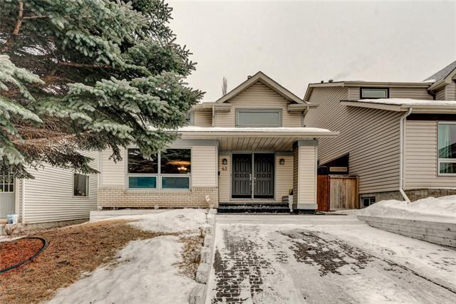 43 Strathearn Crescent SW, Calgary, AB T3H 1R3 (#C4164752) :: Redline Real Estate Group Inc