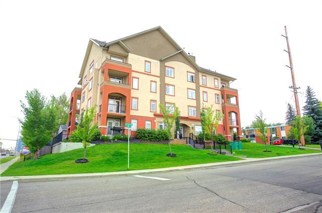 2419 Centre Street NW #401, Calgary, AB T2E 2T8 (#C4164798) :: The Cliff Stevenson Group
