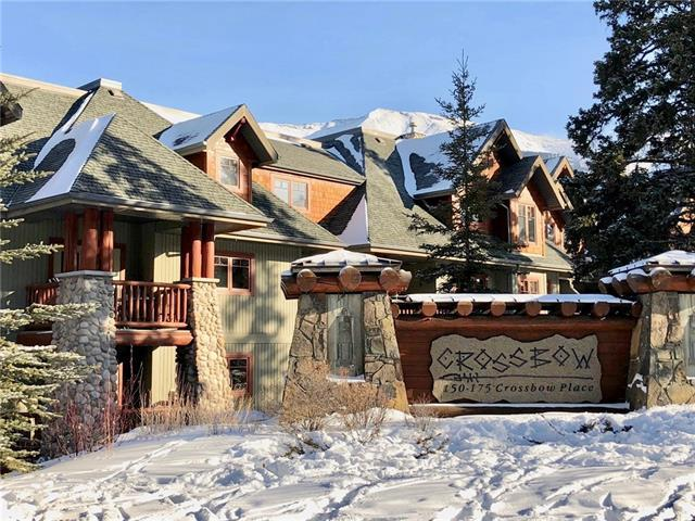 150 Crossbow Place #212, Canmore, AB T1W 3H5 (#C4164825) :: The Cliff Stevenson Group