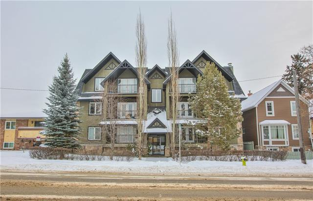 1606 4 Street NW #104, Calgary, AB T2M 2Y9 (#C4164983) :: The Cliff Stevenson Group