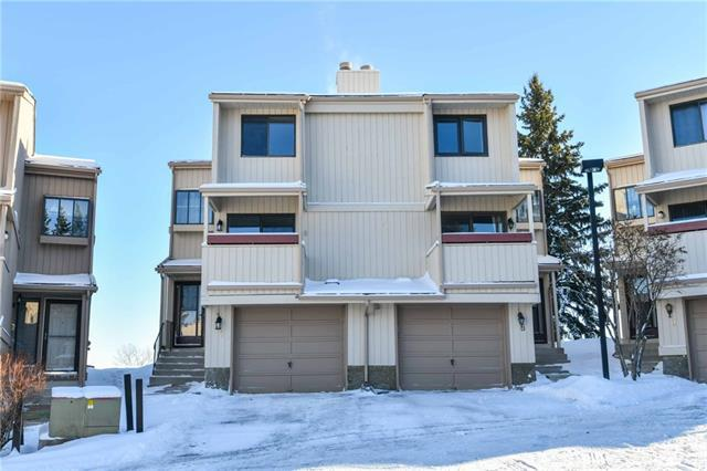 225 Berwick Drive NW #7, Calgary, AB T3K 1P6 (#C4165025) :: Redline Real Estate Group Inc