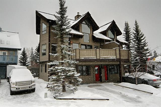 1000 Cougar Creek Drive #2, Canmore, AB T1W 1C7 (#C4165399) :: The Cliff Stevenson Group