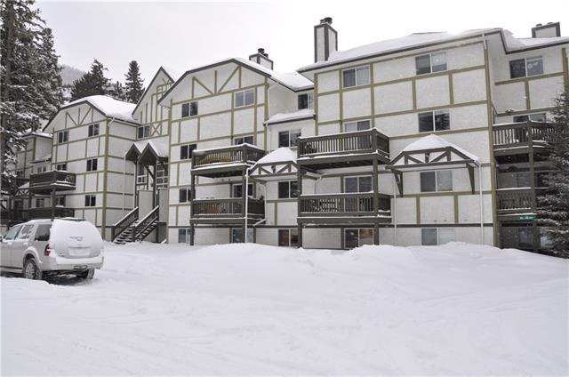 444 Cougar Street #108, Banff, AB T1L 1E3 (#C4165471) :: Canmore & Banff