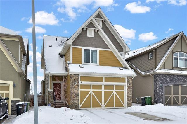 128 Mahogany Way SE, Calgary, AB T3M 1N6 (#C4165499) :: Redline Real Estate Group Inc