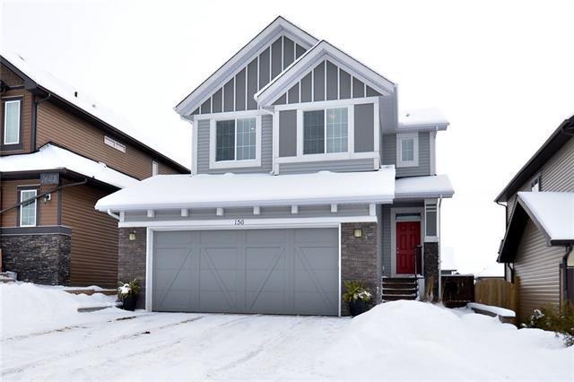 156 Heritage Boulevard, Cochrane, AB T4C 0S6 (#C4165518) :: Redline Real Estate Group Inc