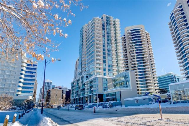 1025 5 Avenue SW #608, Calgary, AB T2P 1N4 (#C4165534) :: Redline Real Estate Group Inc
