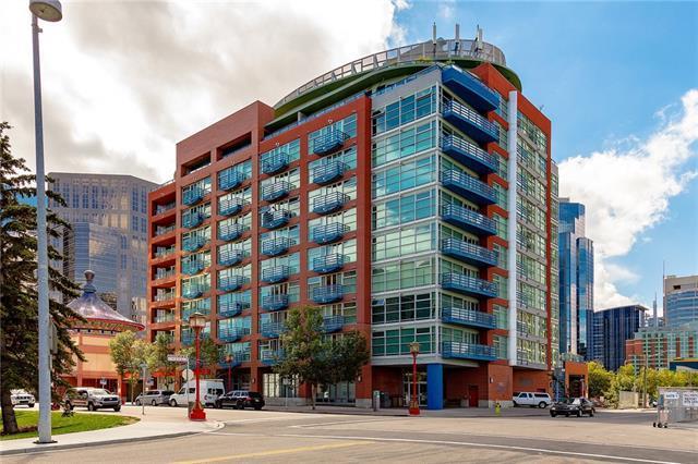 205 Riverfront Avenue SW #606, Calgary, AB T2P 5K4 (#C4165579) :: The Cliff Stevenson Group