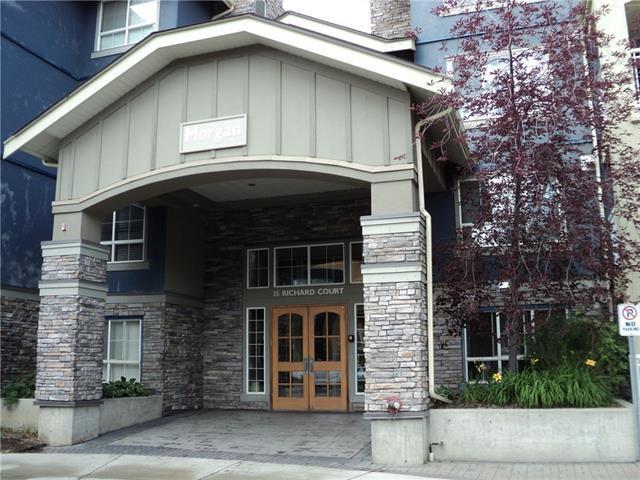 35 Richard Court SW #102, Calgary, AB T3E 7N9 (#C4165597) :: The Cliff Stevenson Group