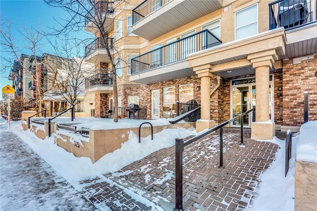 323 18 Avenue SW #202, Calgary, AB T2S 0C4 (#C4165684) :: The Cliff Stevenson Group
