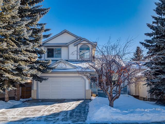 64 Woodmark Crescent SW, Calgary, AB T2W 4Z2 (#C4165739) :: The Cliff Stevenson Group