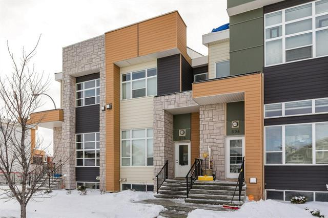 1530 Bayside Avenue SW #505, Airdrie, AB T4B 4B5 (#C4165751) :: Redline Real Estate Group Inc