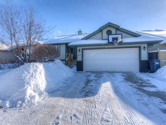 67 Cambridge Glen Drive, Strathmore, AB T1P 1R9 (#C4165849) :: The Cliff Stevenson Group