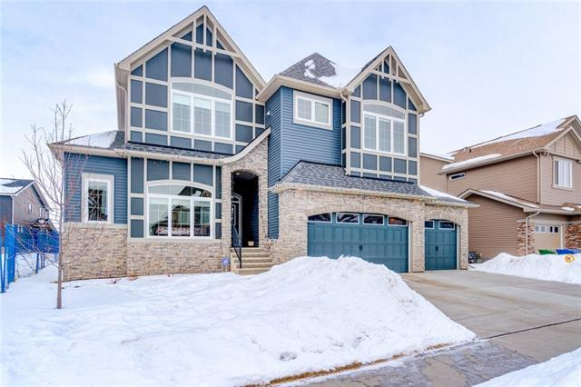 125 Kinniburgh Drive, Chestermere, AB T1X 0T9 (#C4166121) :: Canmore & Banff