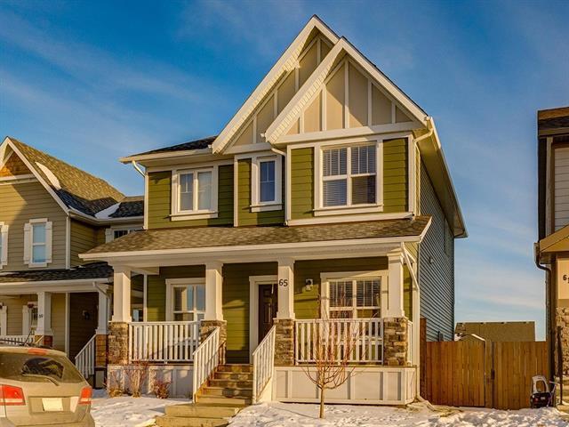 65 Brightoncrest Heights SE, Calgary, AB T2Z 0X6 (#C4166267) :: The Cliff Stevenson Group