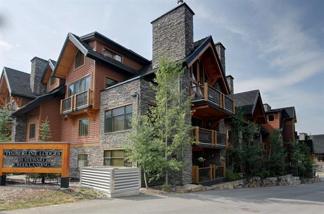 101G Stewart Creek Landing #7304, Canmore, AB T1W 0E3 (#C4166320) :: Canmore & Banff