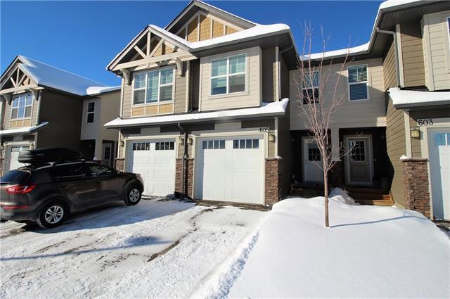 101 Sunset Drive #605, Cochrane, AB T4C 0B4 (#C4166344) :: Tonkinson Real Estate Team