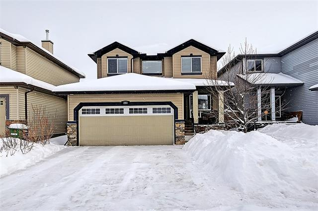 283 Prairie Springs Crescent SW, Airdrie, AB T4B 0K9 (#C4166366) :: The Cliff Stevenson Group