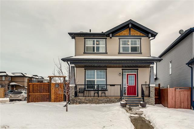 299 Evanston Way NW, Calgary, AB T3P 0B1 (#C4166369) :: Redline Real Estate Group Inc