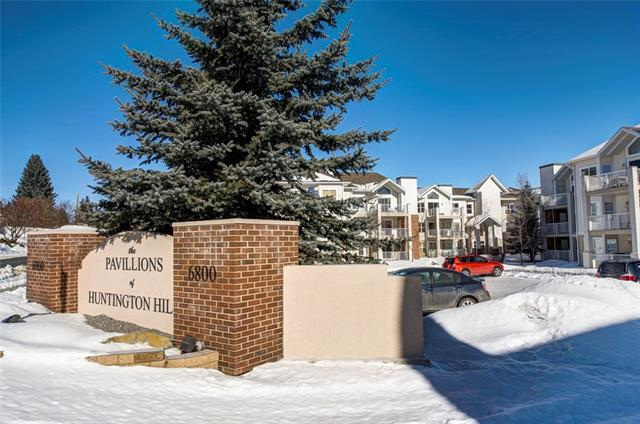 6900 Hunterview Drive NW #102, Calgary, AB T2K 6K6 (#C4166397) :: Tonkinson Real Estate Team