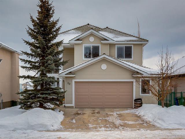20 Gleneagles Terrace, Cochrane, AB T4C 1W4 (#C4166469) :: Redline Real Estate Group Inc