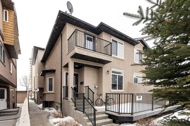 817 Mcdougall Road NE #2, Calgary, AB T2E 5A2 (#C4166486) :: Tonkinson Real Estate Team