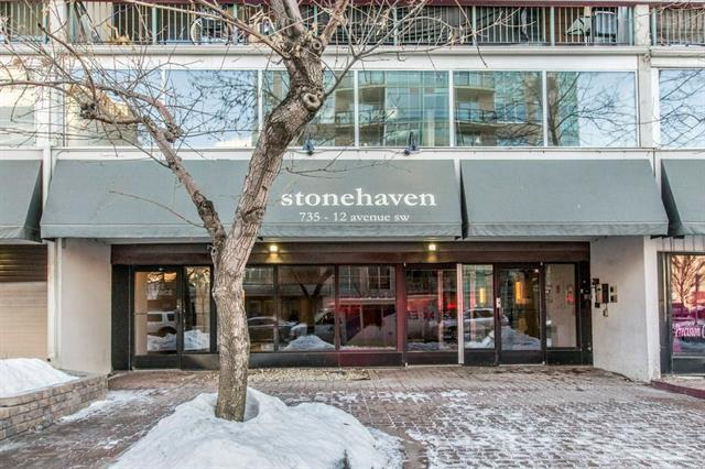 735 12 Avenue SW #908, Calgary, AB T2R 1J7 (#C4166489) :: Tonkinson Real Estate Team