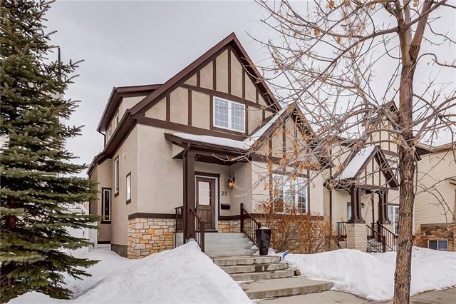 23 Joseph Marquis Crescent SW, Calgary, AB T3E 7S3 (#C4166516) :: Redline Real Estate Group Inc