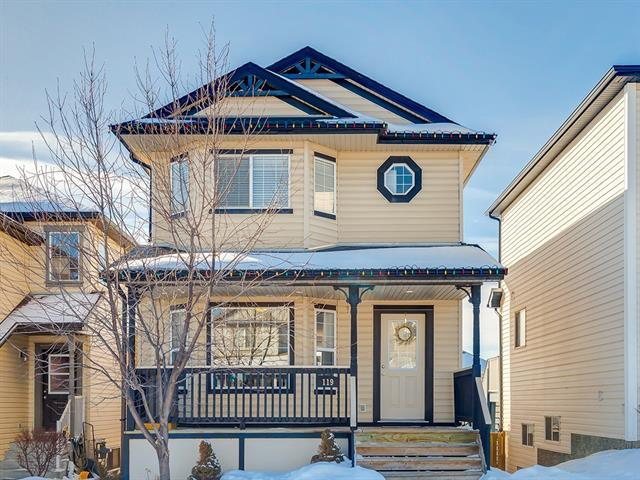 119 Covepark Drive NE, Calgary, AB T3K 5Z5 (#C4166546) :: Redline Real Estate Group Inc