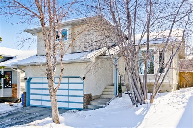 632 Macewan Drive NW, Calgary, AB T3K 3J8 (#C4166556) :: Redline Real Estate Group Inc