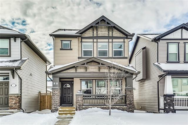55 Skyview Point Terrace NE, Calgary, AB T3N 0G7 (#C4166590) :: Canmore & Banff