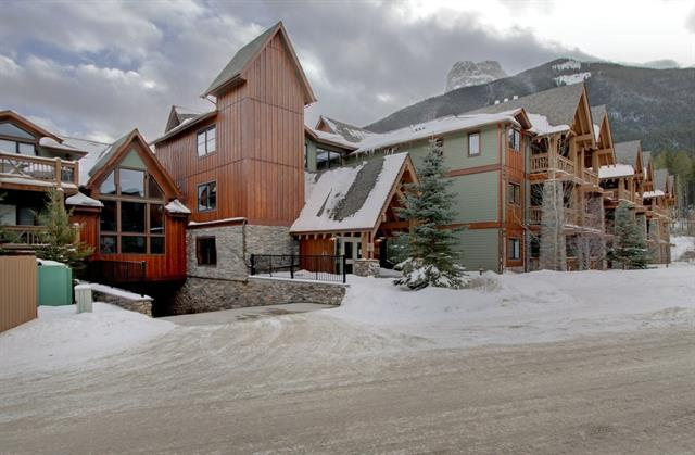 106 Stewart Creek Landing #119, Canmore, AB T1W 0G6 (#C4166648) :: Canmore & Banff