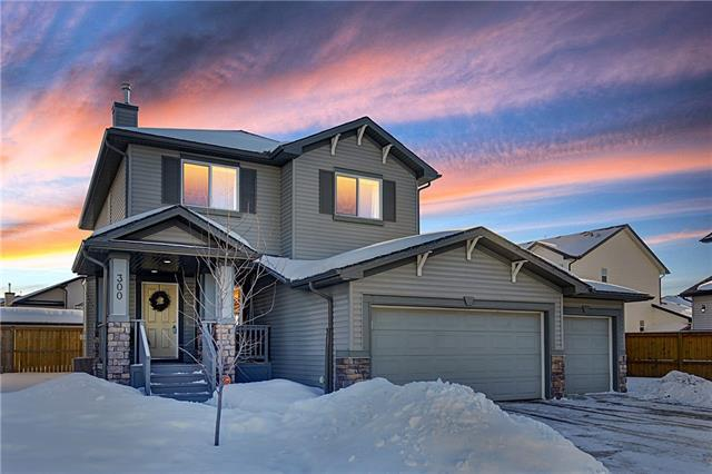 300 West Lakeview Drive, Chestermere, AB T1X 1T2 (#C4166768) :: Canmore & Banff