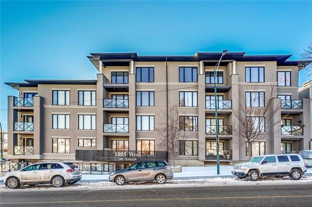 1805 26 Avenue SW #401, Calgary, AB T2T 1E2 (#C4166921) :: Redline Real Estate Group Inc