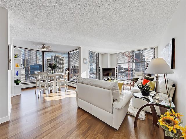 1100 8 Avenue SW #802, Calgary, AB T2P 3T9 (#C4167169) :: Redline Real Estate Group Inc