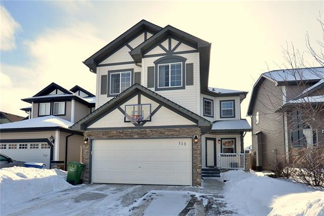 113 Channelside Cove SW, Airdrie, AB T4B 3J1 (#C4167259) :: Redline Real Estate Group Inc