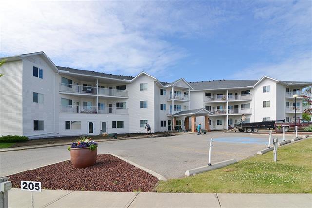 3 Parklane Way #304, Strathmore, AB T1P 1N6 (#C4167346) :: Redline Real Estate Group Inc