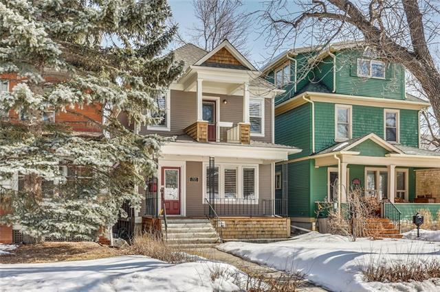 2124 Cliff Street SW, Calgary, AB T2S 2G3 (#C4167737) :: Canmore & Banff