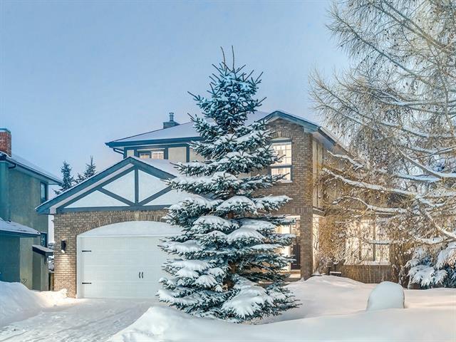 7003 Christie Briar Manor SW, Calgary, AB T3H 2R3 (#C4170297) :: Canmore & Banff