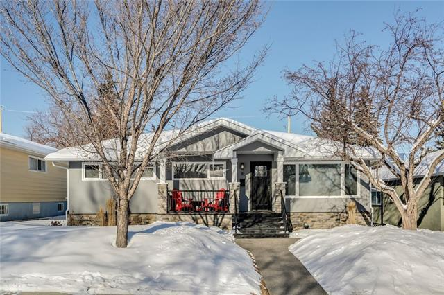8 Manor Road SW, Calgary, AB T2V 1Z7 (#C4170464) :: Canmore & Banff