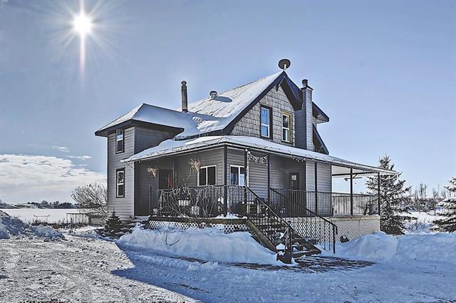 30569 Rg Rd 32, Rural Mountain View County, AB T0M 0W0 (#C4170585) :: The Cliff Stevenson Group