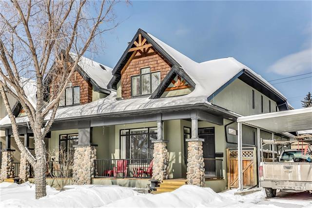 2410 7 Avenue NW, Calgary, AB T2N 1A2 (#C4170945) :: Canmore & Banff
