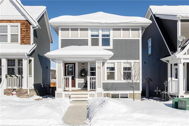 95 River Heights Boulevard, Cochrane, AB T4C 0R9 (#C4171106) :: Canmore & Banff