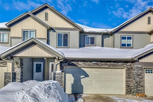 100 Coopers Common SW #103, Airdrie, AB T4B 3C7 (#C4171186) :: Canmore & Banff
