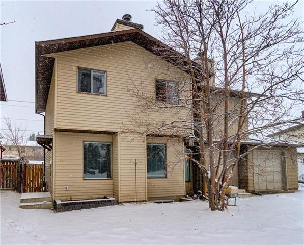 240 Woodside Circle SW, Calgary, AB T2W 3K4 (#C4171209) :: Canmore & Banff