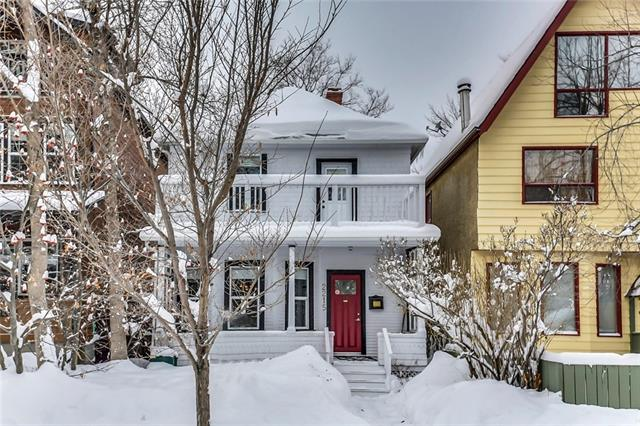 2215 14A Street SW, Calgary, AB T2T 3W9 (#C4171261) :: Canmore & Banff