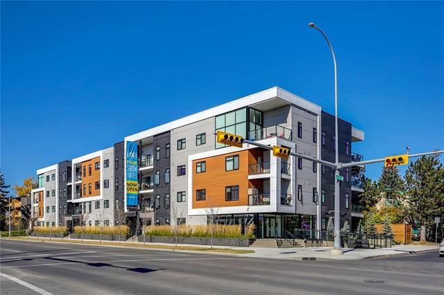 2702 17 Avenue SW #407, Calgary, AB T3E 8A5 (#C4171404) :: Canmore & Banff