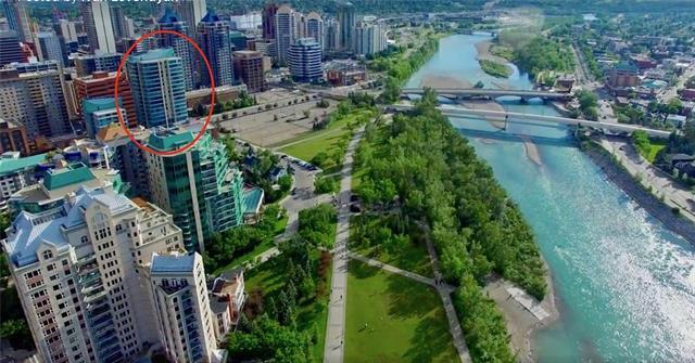 888 4 Avenue SW #1509, Calgary, AB T2P 0V2 (#C4171579) :: Canmore & Banff